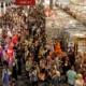 Gedränge auf der Frankfurter Buchmesse