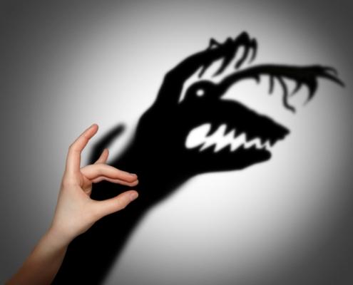 Angst des Autors vor dem Schreiben